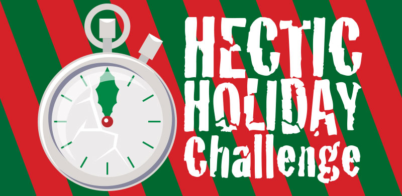 Hectic Holiday Challenge HTML5 Game App